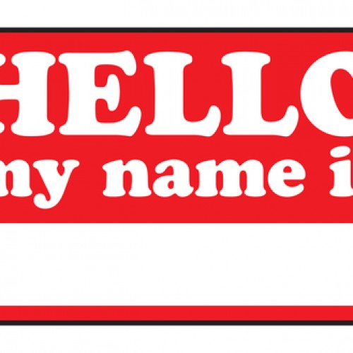 creative ways to design a name badge label cut sheet labels