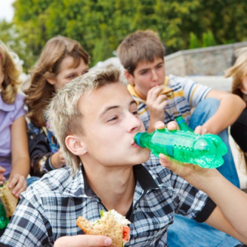 children food and beverage labels