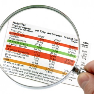 what to put on nutrition labels